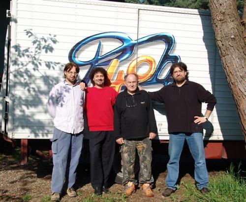 """Il caro Daniele """"Dumbo"""" è venuto a trovarci… non in macchina, ma con il camion dei Pooh"""