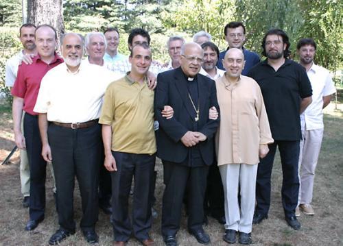 Una graditissima visita del nostro carissimo amico Mons. Virginio Fogliazza - 8/8/2006