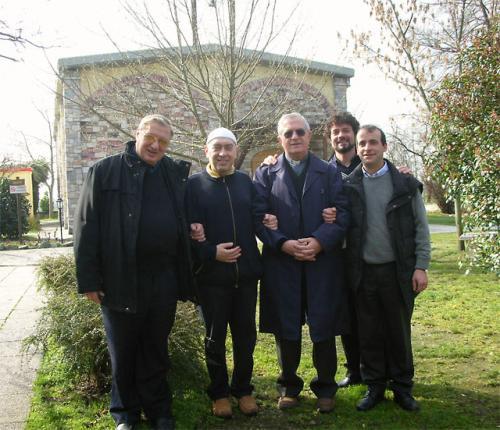 Due carissimi ospiti: Don Matteo Pasut è amico di Roberto dal 1983. Don Bruno Bicego è lo zio di ramia Claudio - Leinì (TO), marzo 2007
