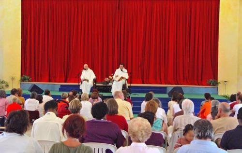 Conferenza dei monaci Ramia sugli insegnamenti di Swami Roberto – Leinì, sabato 27 giugno 2009