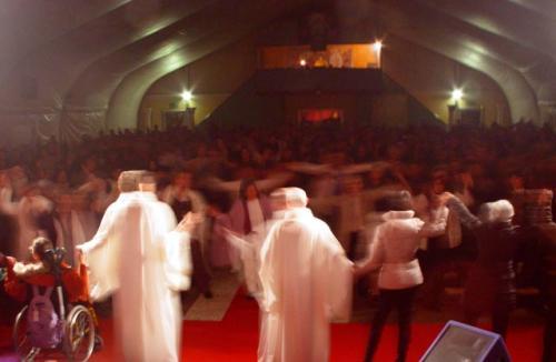 La gioiosa conclusione di una conferenza dei monaci Ramia – Leinì, Sabato 27 febbraio 2010