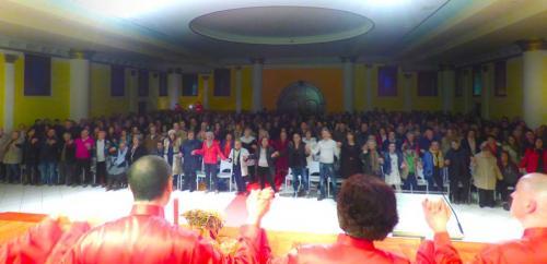 Veglia del S.Natale 2015 nel nostro tempio a Poggiana di Riese Pio X (TV)